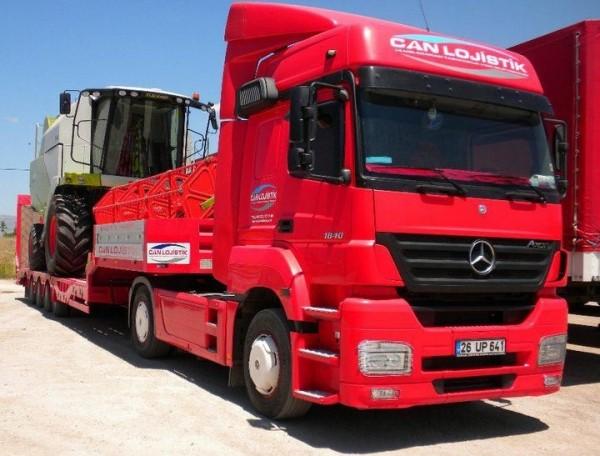 Lowbed Araç İle Tarım Makineleri Taşımacılığı